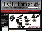 Tattoo Ecommerce Website Design