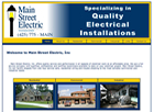 Electrical Contractor Website Design