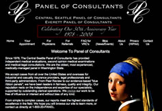 Panel of Consultants Website Testimonial
