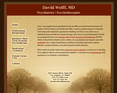 Wolff Los Angeles Psychiatry